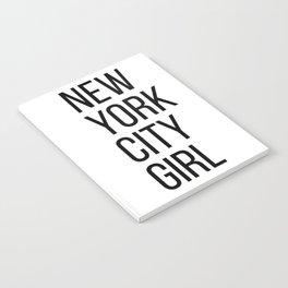New York city girl Notebook