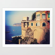Sorrento! Art Print