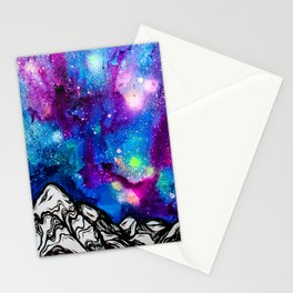 Aurora Borealis Stationery Cards
