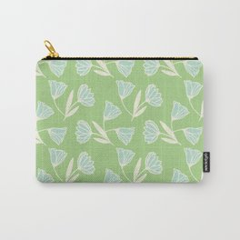 Flowers and wind Carry-All Pouch