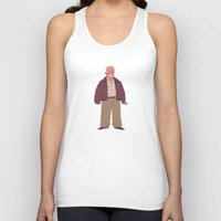 mike wrobel Tank Tops featuring Mike by Mikhail Kalinin