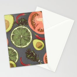Veggies rule  Stationery Cards