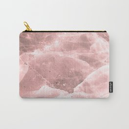 Rose quartz stone Carry-All Pouch