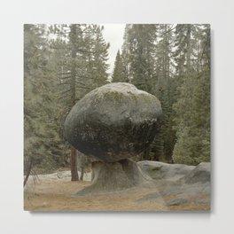 Balancing Rock in California Metal Print