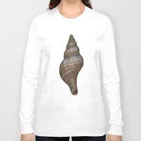 seashell Long Sleeve T-shirts featuring Seashell by Judith Lee Folde Photography & Art
