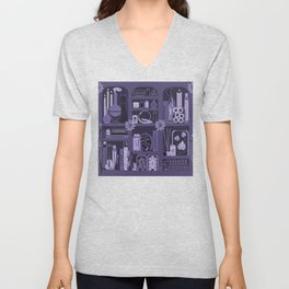 Witches Apothecary Amethyst Unisex V-Neck