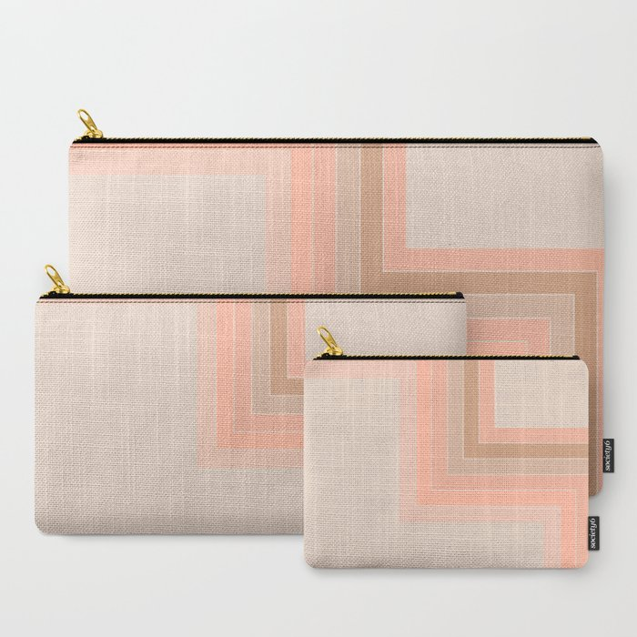 Cornered Soft Light Carry-All Pouch