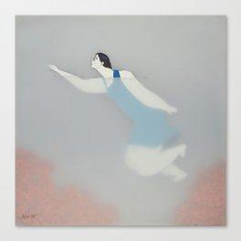 Dona d'aigua VIII Canvas Print