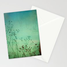 Between Autumn and Winter Stationery Cards