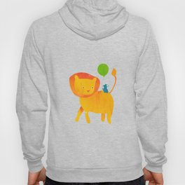 Lion and Mouse Hoody