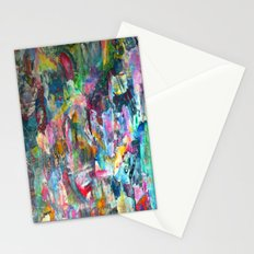 REM white noise Stationery Cards