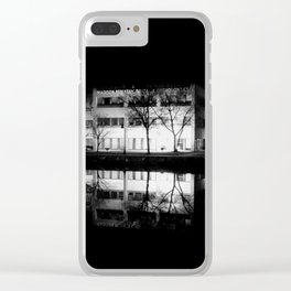 Night Time Reflections Clear iPhone Case