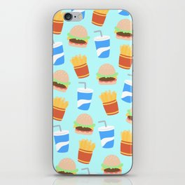 Burgers & Fries iPhone Skin