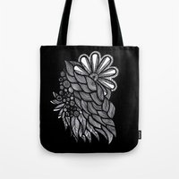 ornate Tote Bags featuring Ornate  by Shivani C