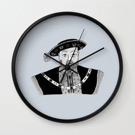 Henry VIII Wall Clock