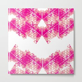 Bright urban texture pattern Metal Print