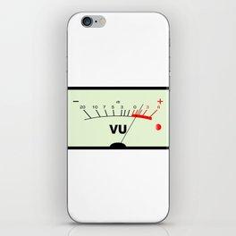 Audio Meter iPhone Skin