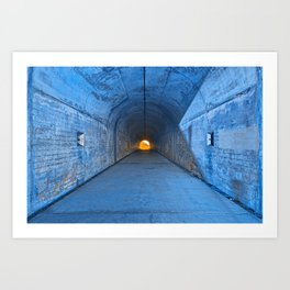 Tunnel of Redemption Art Print