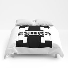 Techno Anagram Comforters