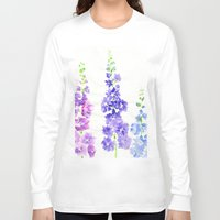 dolphins Long Sleeve T-shirts featuring Dolphins by Kate Havekost Fine Art