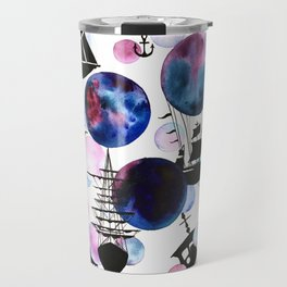 Space Ships Travel Mug