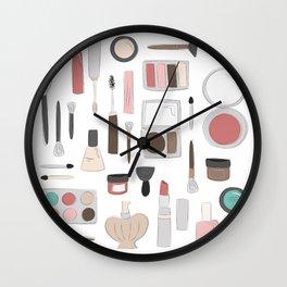 Let's Makeup Wall Clock