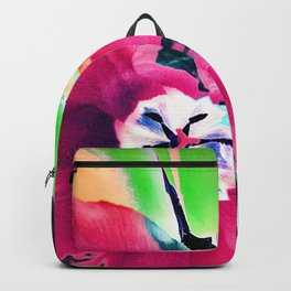 Spring Tulip Abstract Backpack