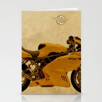 ducati Stationery Cards featuring Ducati Apollo 1963 by Larsson Stevensem