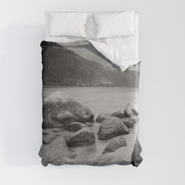 Sand Harbor, Lake Tahoe ... after the storm Duvet Cover