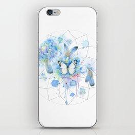 Dreamcatcher No. 1 - Butterfly Illustration iPhone Skin
