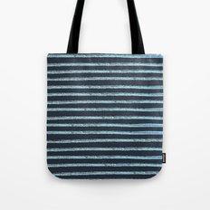 Blue Watercolor Lines Tote Bag