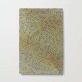 Abstract Pattern XIX Metal Print