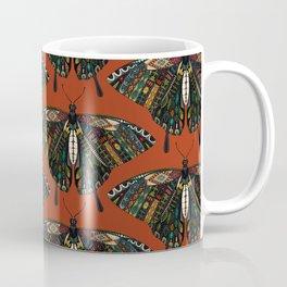 swallowtail butterfly terracotta Coffee Mug