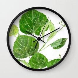 Summer of Linden Breeze Wall Clock
