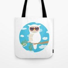 Owlexa the Summer Owl Tote Bag