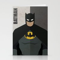 super hero Stationery Cards featuring Hero by Loud & Quiet