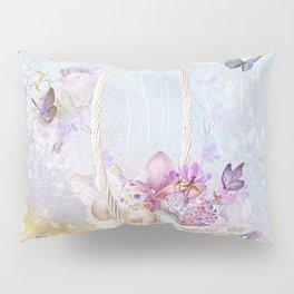 Lavender Easter Pillow Sham