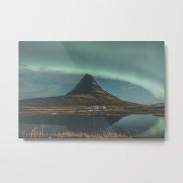 Kirkjufell, Iceland Metal Print