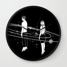 Revolve around you Wall Clock