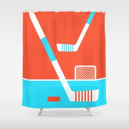 The Face-off Shower Curtain