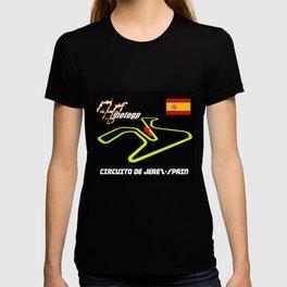 DE JEREZ CIRCUIT MOTOGP T-shirt
