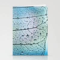 aqua Stationery Cards featuring aqua by Ingrid Beddoes