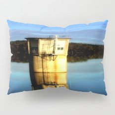 Reflections of a water Tower Pillow Sham