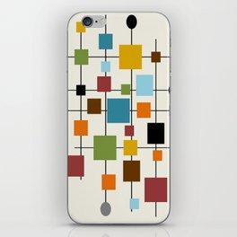Mid-Century Modern Art 1.3 iPhone Skin