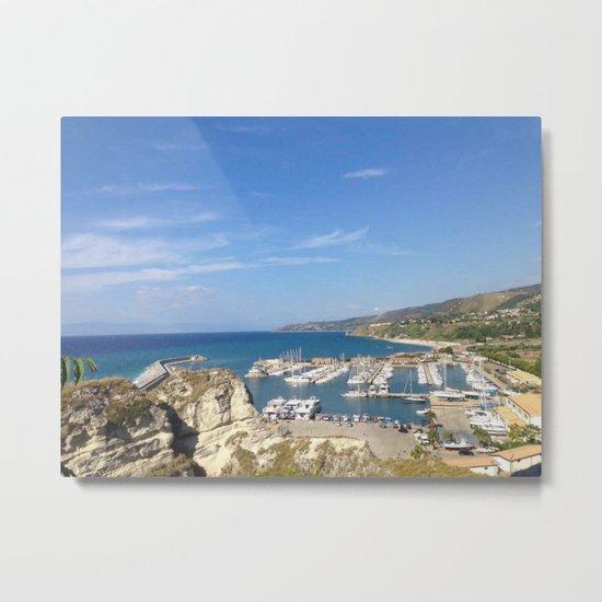 Italian Beach 2 Metal Print