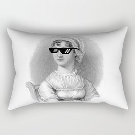 Thug Jane Austen Rectangular Pillow