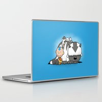 aang Laptop & iPad Skins featuring You Arrowhead! by adho1982
