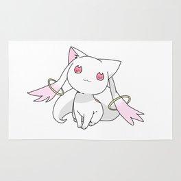 Kyubey Cat Rug