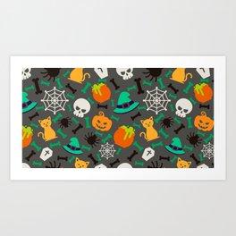 Spooky Season Art Print