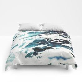 Ecume d'océan Comforters